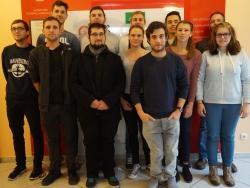 Juniorteam-Teilnehmer in Grünberg
